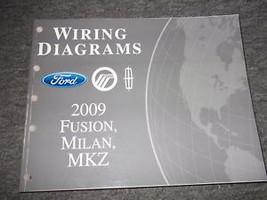 2009 Ford Fusion Mercury Milan Lincoln MKZ Electrical Wiring Diagram Man... - $69.25