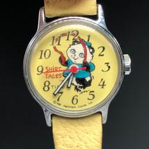 SHIRT TALES WATCH 1981 HALLMARK Pammy Panda wristwatch timex retro vinta... - $74.25