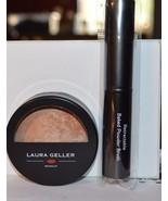 Laura Geller baked body frosting Honey Glow all over face body .32 oz w/... - $14.99