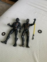 """Disney TRON Legacy Lot Of 2 7.5"""" Deluxe Action Figures Spin Master Free Shipping - $33.99"""