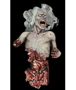 Life Size Deluxe Sound--ANIMATED-DIE ZOMBIE-TORSO--Haunted House Hallowe... - $549.97