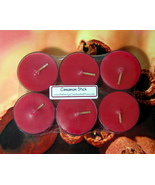 Cinnamon Stick PURE SOY Tea Lights (Set of 6) - $5.00
