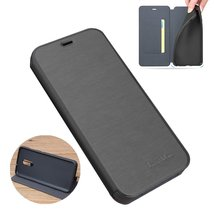 Bakeey for Xiaomi Redmi Note 9S / Redmi Note 9 Pro Case Brushed Pattern Flip wit - $16.99