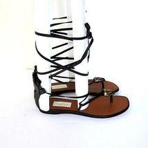 Mark sandales GARAVANI chaussures VALENTINO 5 2488163 8 à US NEUF noir j lacets wtA7S1qx8