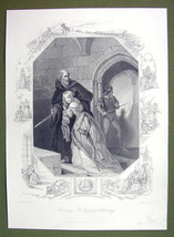 GERMANY Lady Escapes from Castle Dungeon Prison - SUPERB Quality Print E... - $21.60