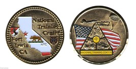 "ARMY FORT IRWIN NATIONAL TRAINING CENTER MILITARY 2""  CHALLENGE COIN - $16.24"