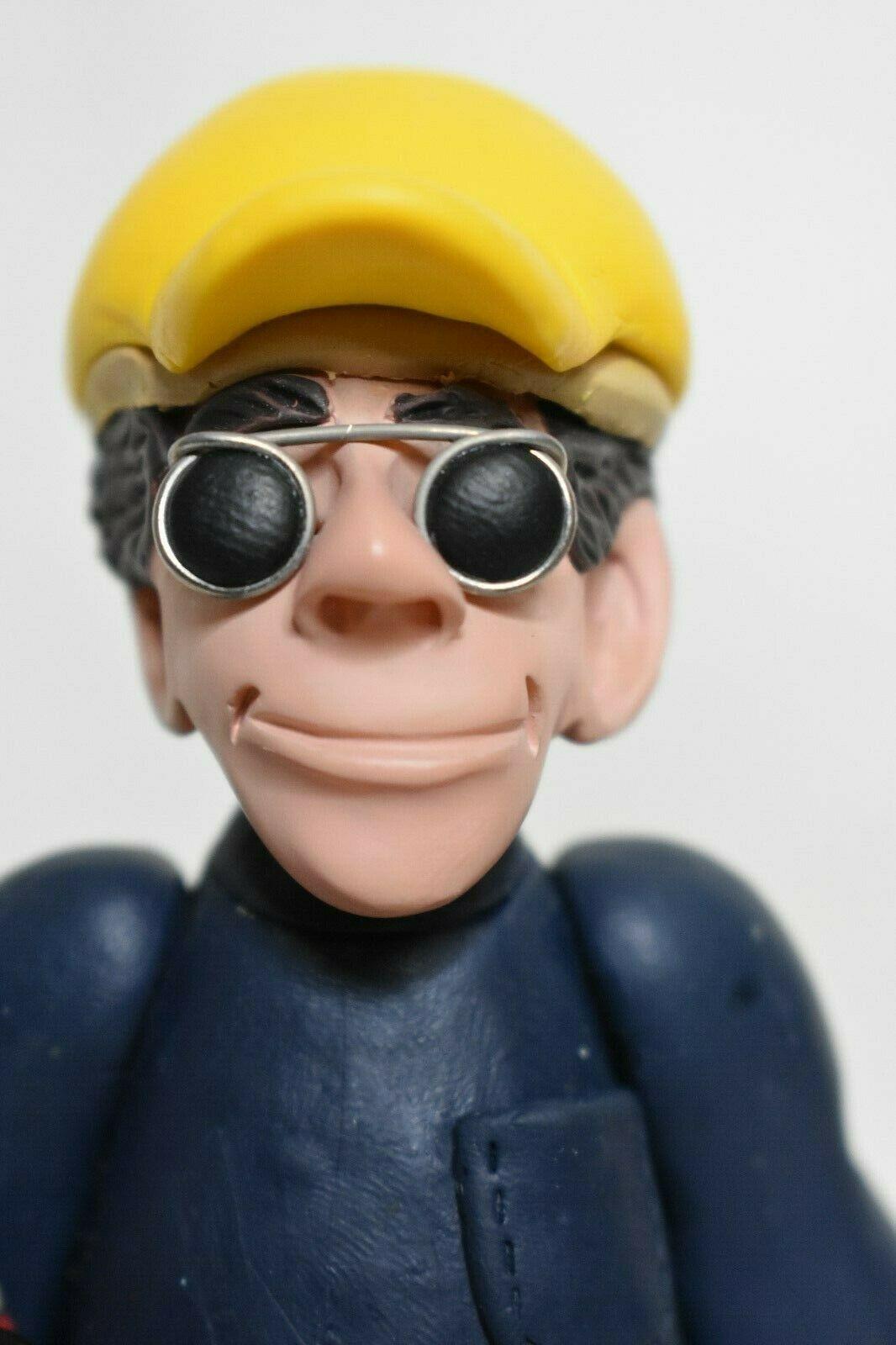 Construction Worker Shelf Sitter Figurine signed J Manning Limited Edition