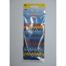 Prym 211305 Circular knitting needles, aluminium, 40cm, 6.00mm, grey - $17.84 CAD