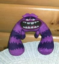 MONSTER University-Disney Plush Spin Master Shake & Scare Talking Purple... - $5.49