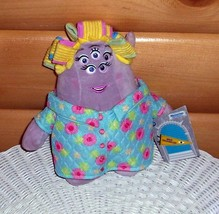 "MONSTER University-Disney Plush Mrs Sheri Squibbles 10"" Squishy Mom - $8.95"