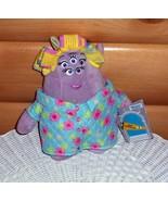 "MONSTER University-Disney Plush Mrs Sheri Squibbles 10"" Squishy Mom - $8.95"