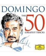 DOMINGO -THE 50 GREATEST TRACKS - 2CD - by Placido Domingo - $24.95