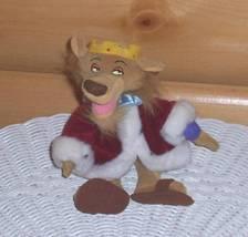 "Disney Robin Hood Prince John Plush Lion 9"" Beans in Royal Red Robe - $7.49"