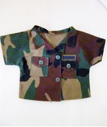 BDU Shirt for Bear or Doll, US Air Force Woodland Camouflage - $4.99