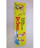 Bookmark 1985 Dr Seuss, Reading it all starts with Dr Seuss - $0.00