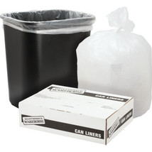 """55-60 Gallon High-Density Can Liner """"Pkg Of 200"""" - 38 x 58"""" - 14 Micron ... - $79.97"""