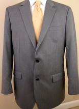 Michael Kors Blazer 40L Gray 2 Buttons Wool Blend Sport Jacket Blazer Mens  - $44.99