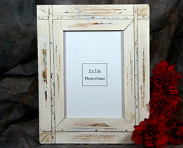 Rustic Shabby Chic Country Barnwood Picture Frame 5x7 - $14.98