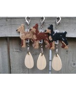 Miniature Pinscher dog crate tag or hang it anywhere, handmade, pick you... - $13.00