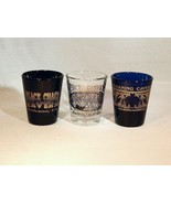 Spelunker's Special: California Caves Shot Glass Set of Three (3) - Grea... - $8.99