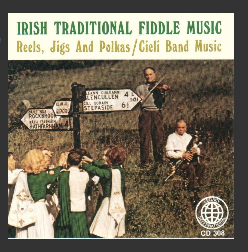 Irish traditional fiddle music by cieli band music
