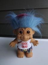 "Vintage Russ Troll Doll Cool Grad 8.5"" - $32.73"