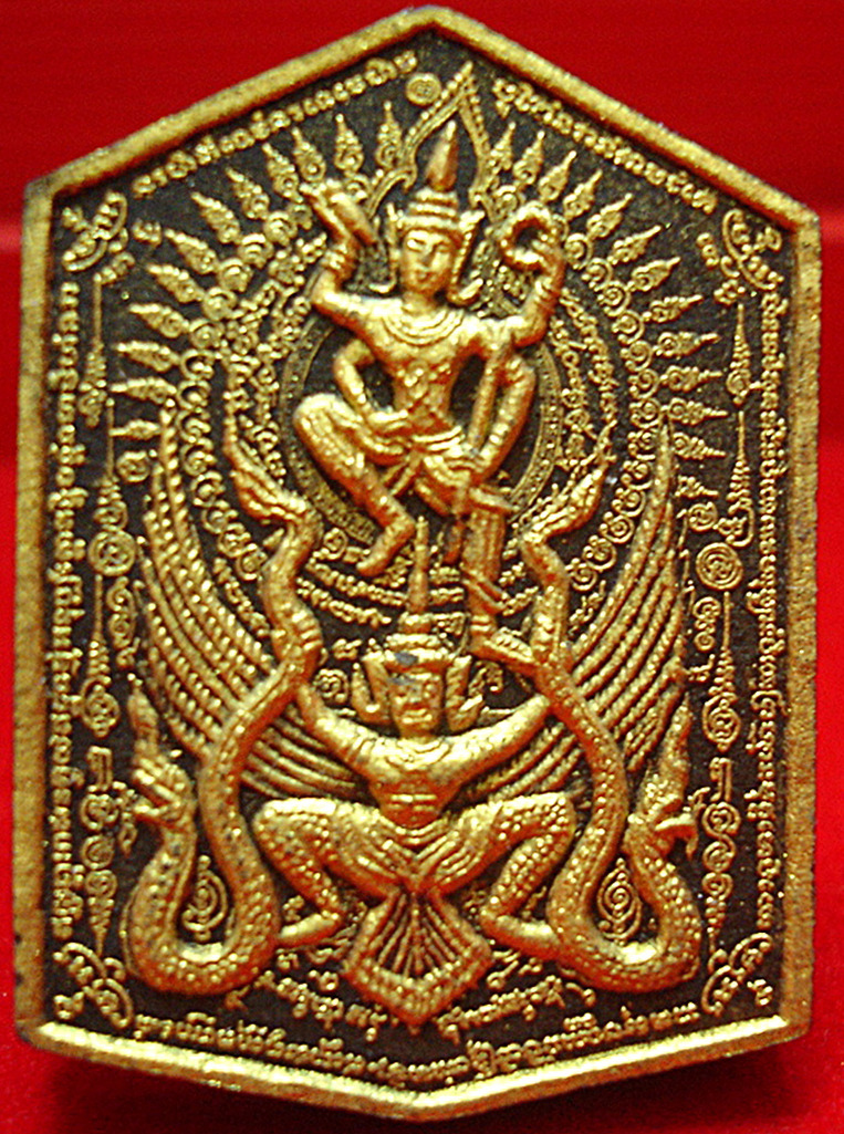 Thai Amulet Narayana on Garuda Lp.Nong Tamarakkito Be 2553,Amulet Pendants