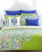 Tommy Hilfiger Folklore 2 European Pillow Shams... - $34.97