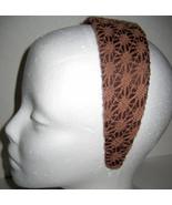Macy's Headband brown lace NEW - $6.00