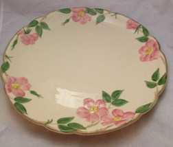 "Franciscan Ware 14"" Round Platter Beautiful Pottery Pink Green Classic - $46.71"