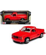 1992 GMC Sierra GT Red Pickup Truck 1/24 Diecast Model by Motormax 73204R - $29.61