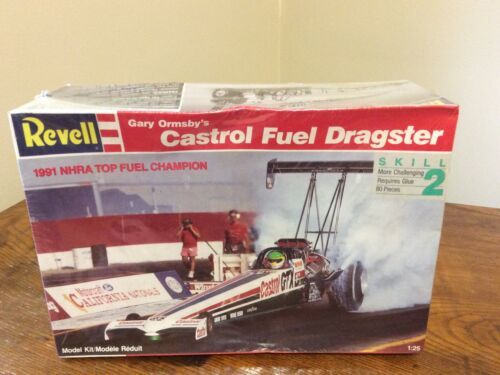 Primary image for REVELL 7425 GARY ORMSBY'S FUEL DRAGSTER NHRA CASTROL 1/25 Model Car Factory Seal