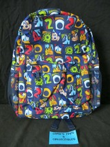 """Disney Parks 2020 Mickey and Friends Canvas Backpack 16"""" tall 15"""" wide 6... - $37.98"""