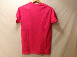 """""""Keep Calm + AG ON"""" Hot PInk T-shirt Size Small 100% Cotton Short Sleeve image 5"""
