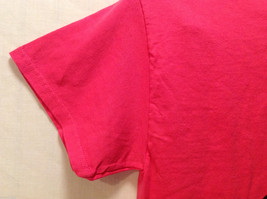"""""""Keep Calm + AG ON"""" Hot PInk T-shirt Size Small 100% Cotton Short Sleeve image 4"""