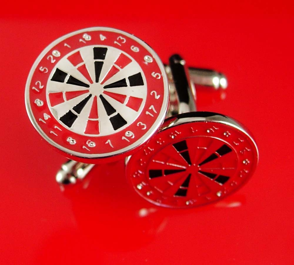 9ebb7e3cf691 GAMERS DART Board Cufflinks Vintage and 50 similar items