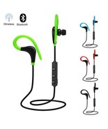 Wireless Bluetooth Earphone Headphone with Mic Sports Portable Neckband ... - £3.20 GBP