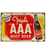Nostalgic AAA Root Beer Sign Bar And Restaurant Reproduction - $25.74