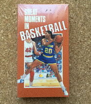 Great Moments in Basketball • VHS Tape • New & Sealed • College Sports V... - $9.85