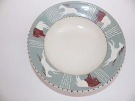 Beautiful Studio Pottery Bowl Horse Bison Buffalo Susan Carlson? 2004 We... - $19.34