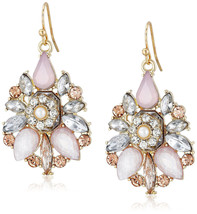 New Multicolored Crystal Rhinestone Drop Earrings nwt #E53054BP - $7.43