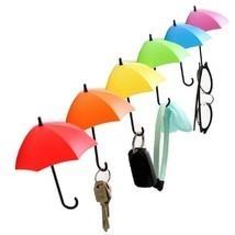 3pcs/lot Key Wall Holder Umbrella Rack Creative Key Hanger Decorative Wa... - $8.04 CAD
