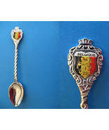 BELGIUM Souvenir Collector Spoon Belgique Belgian LION Collectible Vintage - $6.95