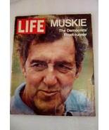 Life Magazine 1971 Edmund Muskie the Democrats Front Runner President - $9.99