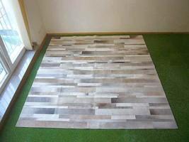Cowhide rug Casa 857 - 7.2x7.2 ft. (214x226 cm) - $1,039.00