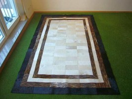 Cowhide rug Cedro 736 - 5.1x8 ft. (154x243 cm) - $919.00