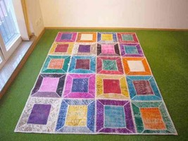 Patchwork rug Multi 13 - 5.6x7.7 ft. (170x235 cm) - $619.00