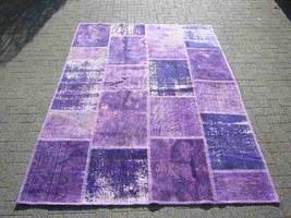 Patchwork rug Violet 112 - 5.6x7.9 ft. (170x240 cm) - $739.00