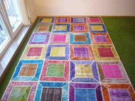 Patchwork rug Multi 24 - 6.5x9.7 ft. (197x295 cm) - $869.00