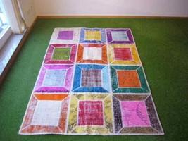 Patchwork rug Multi 31 - 4.6x6.5 ft. (139x196 cm) - $439.00